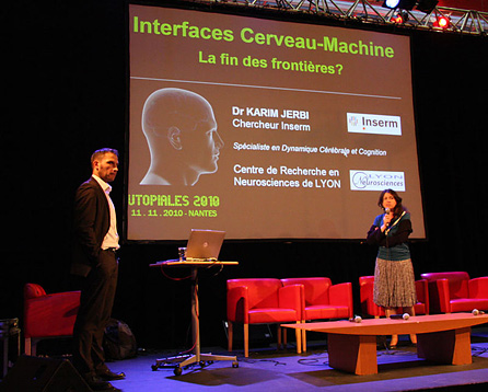 Les Utopiales - Interface Cerveau Machine - 2010
